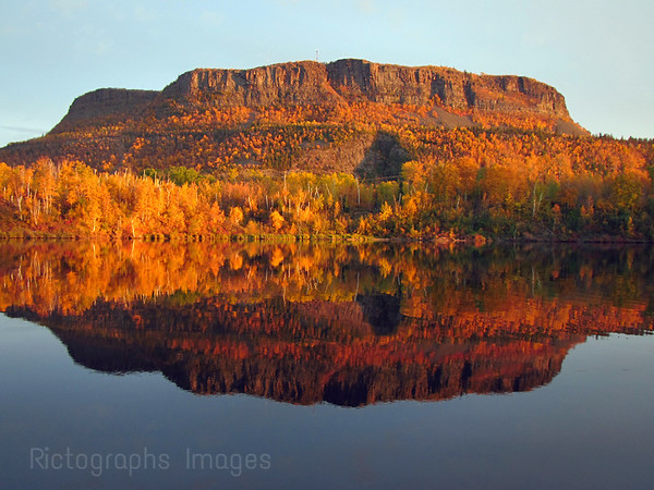 Mount McKay, Kam River, Thunder Bay, Ontario, Canada