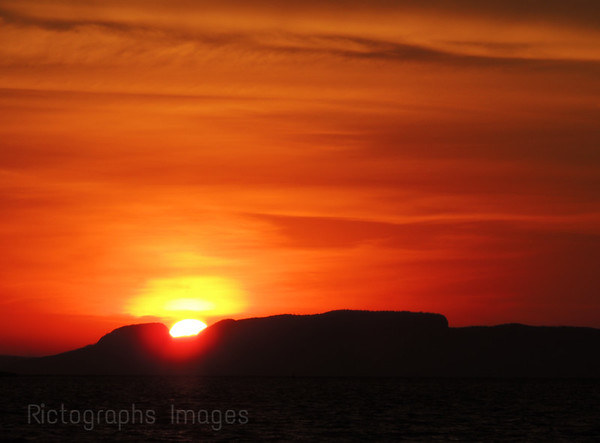 Sleeping Giant Sun Up