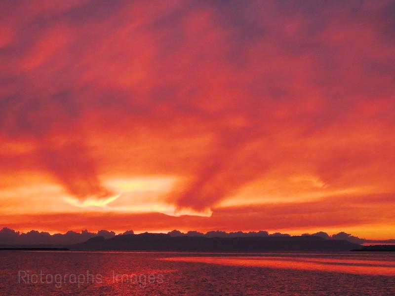 Lake Superior Sleeping Giant, Sunrise, Thunder Bay, Ontario, Canada, Autumn 2013