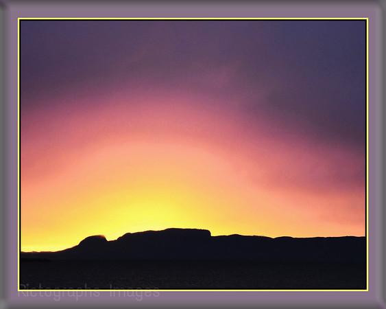 Giant Sunrise, Thunder Bay, Ontario, Canada