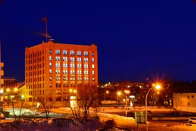 Whalen Building, Downtown, Port Arthur, Thunder Bay, Ontario, Canada