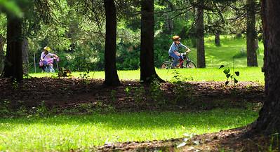 Biking The Recreation Trails