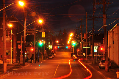 Night Happenings In Thunder Bay, Ontario, Canada