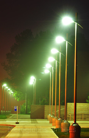 LED, (Light Emitting Diode), Night Street Lights