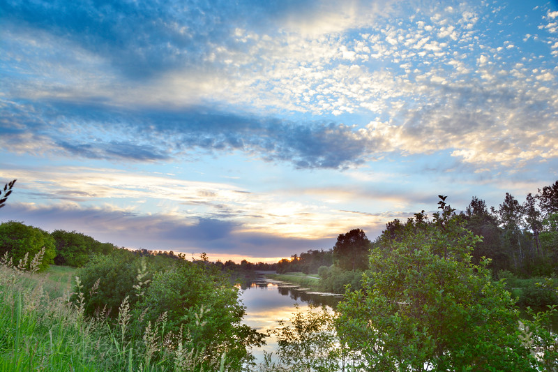 MacIntyre River, Thunder Bay, Ontario, Canada, Summer 2016