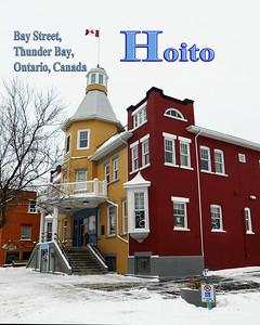 Hoito, Bay Street, Thunder Bay Ontario, Canada