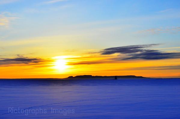 Giant Sunrise, February 2018