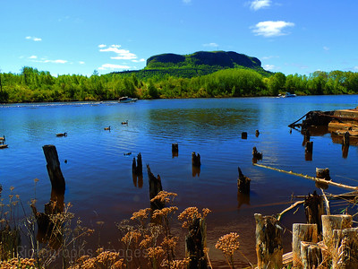 The Kam River; Thunder Bay, Ontario, Canada  Ric Evoy, Rictographs Images