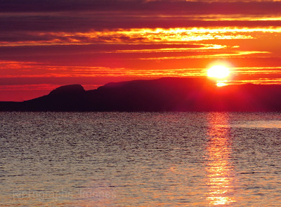 Lake Superior, Giant, Sun Rise, Autumn 2017
