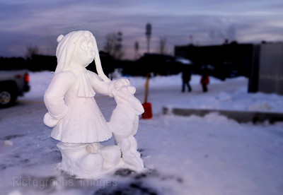 Snow Sculpture Art