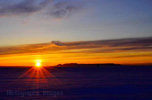 Nanabijou, Winter Sunrise, 2018