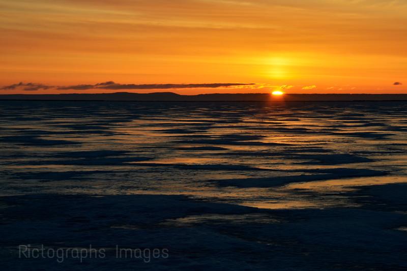 Lake Superior Gitche Gumee Sun Rise