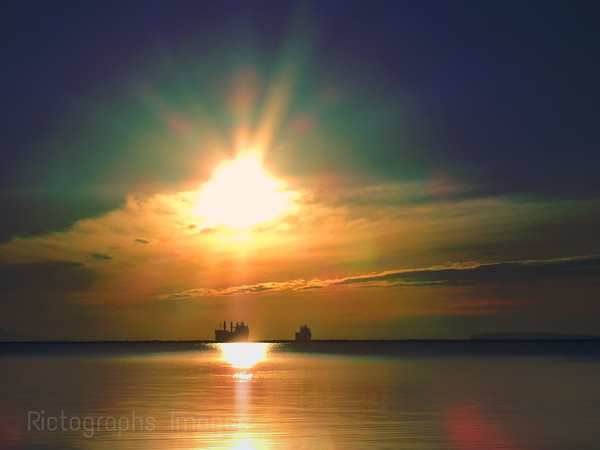 Ships On Lake Superior, Rictographs Images
