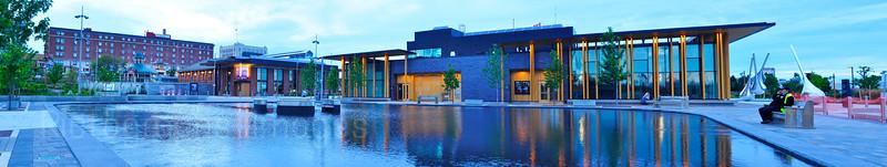 Prince Arthur's Landing, Water Garden, Marina Park, Thunder Bay, Ontario, Canada