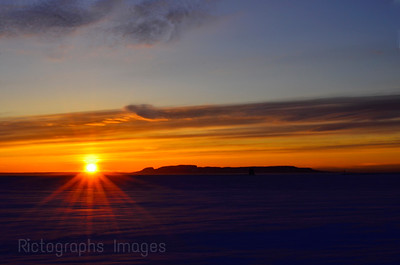 Sun Rising, Rictographs Images