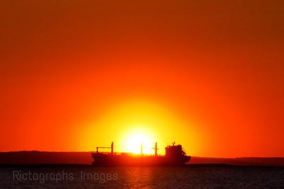 Sun Rise, Freighter