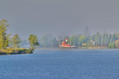Foggy Kam River, Summer 2018