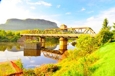 The Swing Bridge, Summer 2017