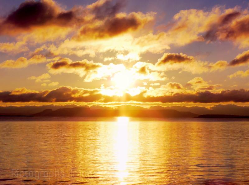 Sleeping Giant Sunrise, Oct 2013,