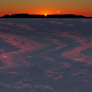 A Lake Superior, Nanabijou, Sunrise