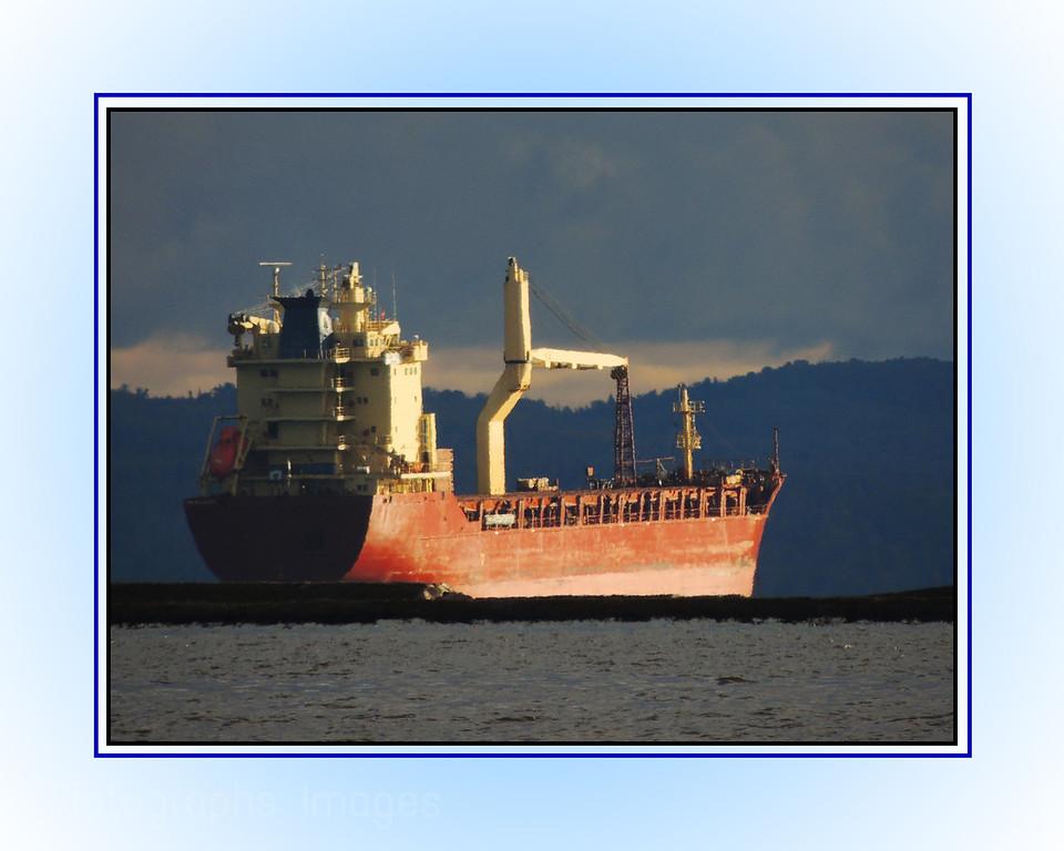 Shipping Cargo On Lake Superior