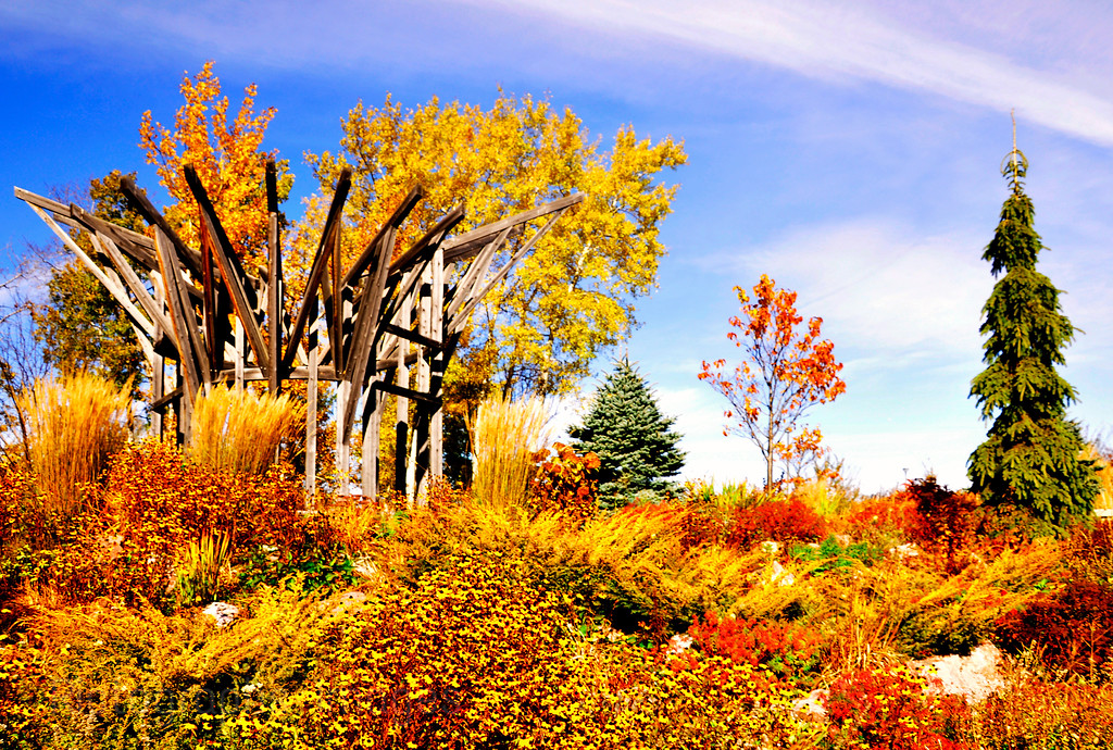 The Hope and Memory Garden, Thunder Bay, Ontario, Canada