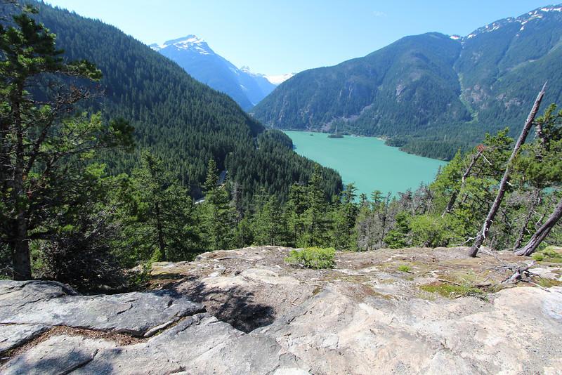 Ross lake from Thunder Knob.