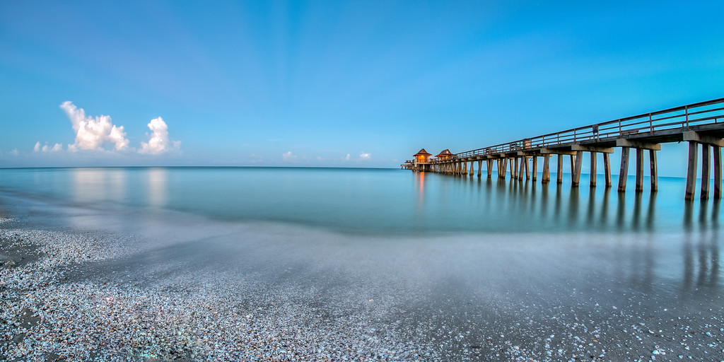 Naples Pier left Smooth Waves 2015