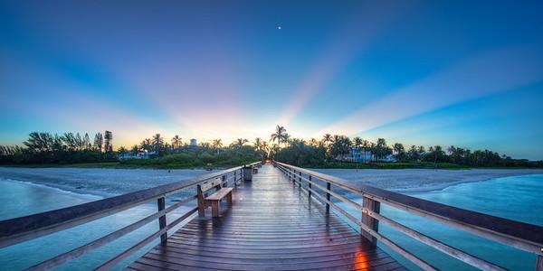 Pier shot East sunrise 2016