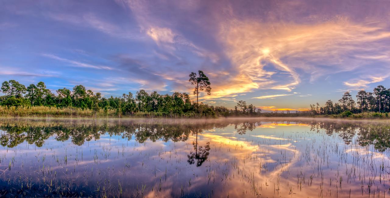 Hidden lake sunrise 2014