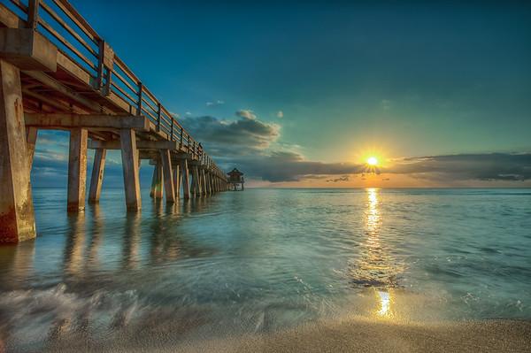 Golden Sun Pier North