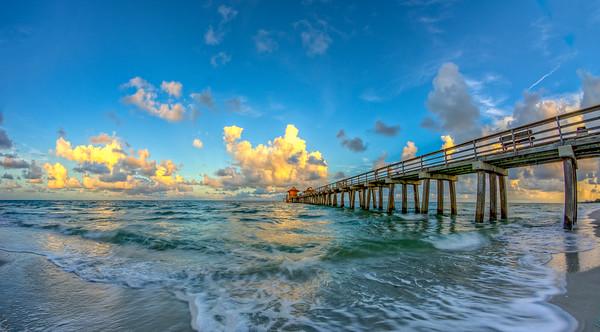 Pier South Morning Sunrise 2014