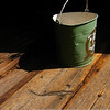 Leave it to me to visit the grounds of one of the most famous American sculptors and take a picture of a...bucket? Hey, I liked the contrast of the white handle and deep shadow and the texture of the old barnboards...and that tiny flake of green paint right on the edge of the shadow wouldn't let me pass by without pointing my camera at it. Seriously, the bucket made me do it.  Saint-Gaudens National Historic Site, Cornish, NH.