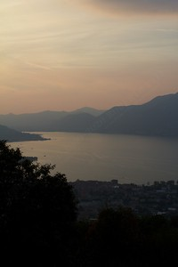 Un bel tramonto sulle Torbiere del Sebino in compagnia del mio amico Scripter81