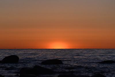 Solen på väg upp