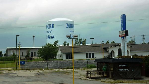 Tornado damage in Moore, Ok May 26, 2013