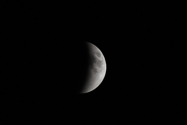Total Lunar Eclipse - Blood Red Moon