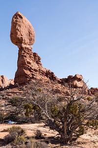 Balanced Rock, Arches NP. I think every park has balanced rock.