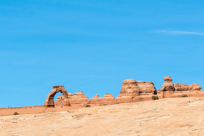 Delicate Arch from the Viewpoint, Arches NP.