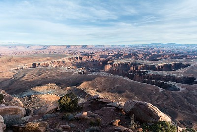 Grand View Point Overlook, Canyonlands NP.