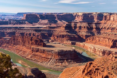 Dead Horse Point SP. A tighter view.