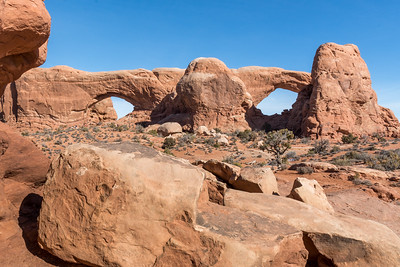 North and South Windows, Arches NP.