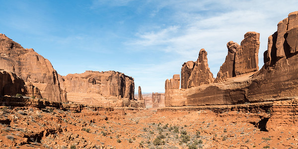 Park Avenue, Arches NP.