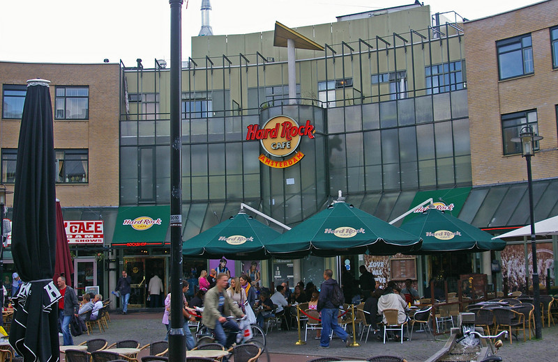 Every city seems to have a Hard Rock Cafe