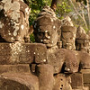 Gate Guardians Angkor Thom