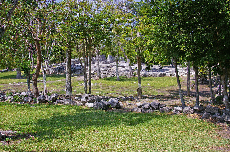 San Gervasio.  Mayan and Toltec ruins on Cozumel.  Occupied from about 300 A.D. to about 1500 A.D..