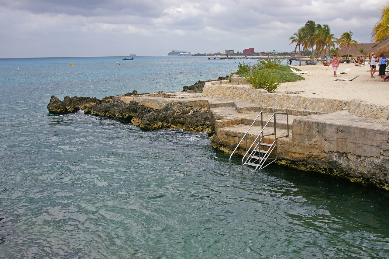 At Parque Chankanaab, not too far south of San Miguel, the big town on Cozumel