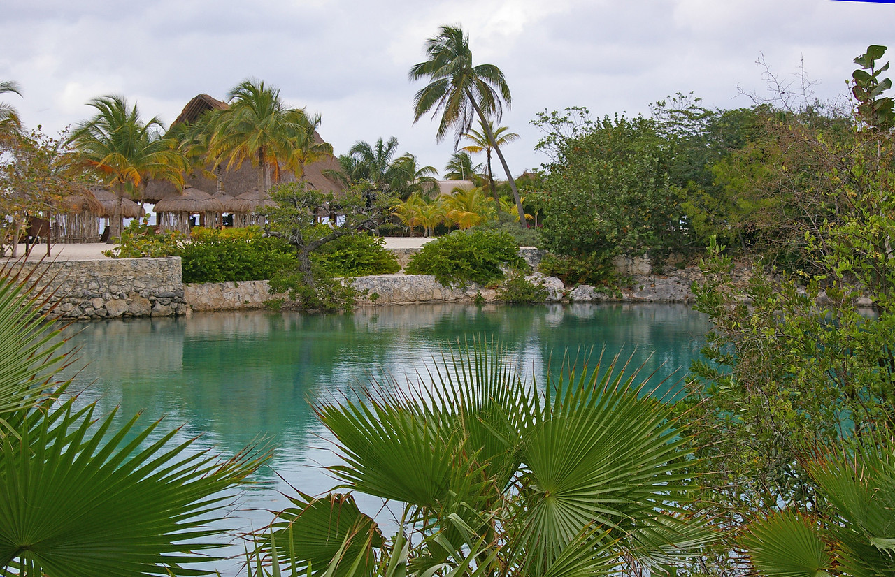 The lagoon at the park, (Chankanaab)