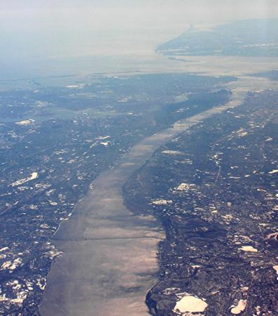 Hudson River, Tapan-Zee Br,  Manhattan