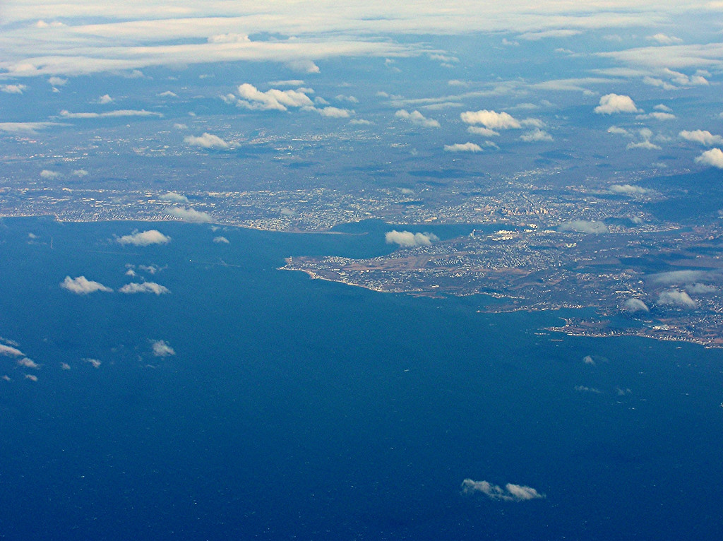 New Haven Harbor area